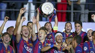 La nova samarreta del Barça a la Champions