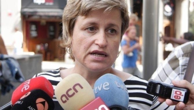 La portaveu d'ERC al Parlament, Anna Simó