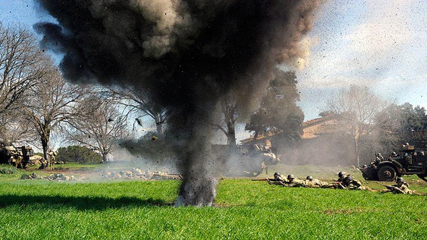 """Per al rodatge de """"Tornarem"""" s'ha fet servir gran varietat de material militar real"""