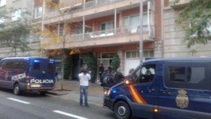 La policia espanyola escorcolla per ordre judicial la vivenda de l'expresident Jordi Pujol