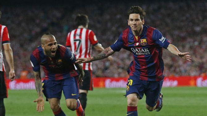 """Dani Alves: """"Messi em va dir que no hi havia millor lloc que el Barça"""""""