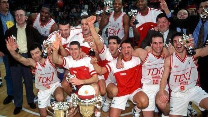 Manresa celebra els 25 anys de la Copa del Rei de bàsquet