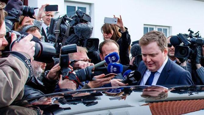 """Dimiteix el primer ministre d'Islàndia, arran dels """"papers de Panamà"""""""