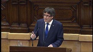 "Puigdemont: ""No vull administrar rampoines"""