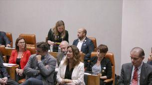 El pacte entre PSC i JxCat es consuma i Núria Marín ja és presidenta de la Diputació de Barcelona