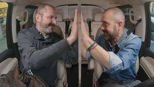 """Víctor Tomàs i Oriol Grau han pujat """"Al cotxe!"""" amb Eloi Vila"""