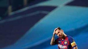 Messi, el dia del 2 a 8 a Lisboa