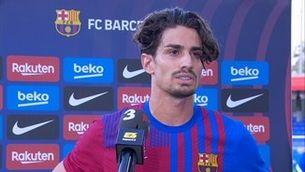"""Àlex Collado: """"No tornaré al Barça B"""""""
