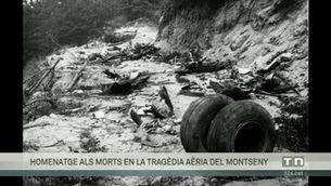 51 anys de l'accident aeri al Montseny en què van morir 112 persones