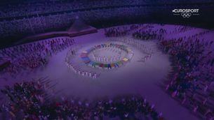 """La interpretació d'""""Imagine"""" durant la cerimònia de Tòquio 2020"""