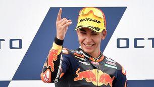 Raúl Fernández guanya en Moto2 el Gran Premi de San Marino