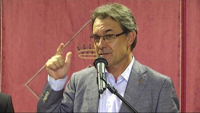 Artur Mas en una imatge d'arxiu.