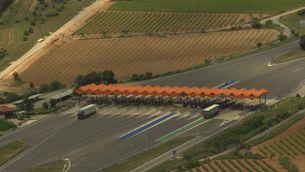El 44% dels ingressos d'autopistes d'Espanya, recollits a Catalunya