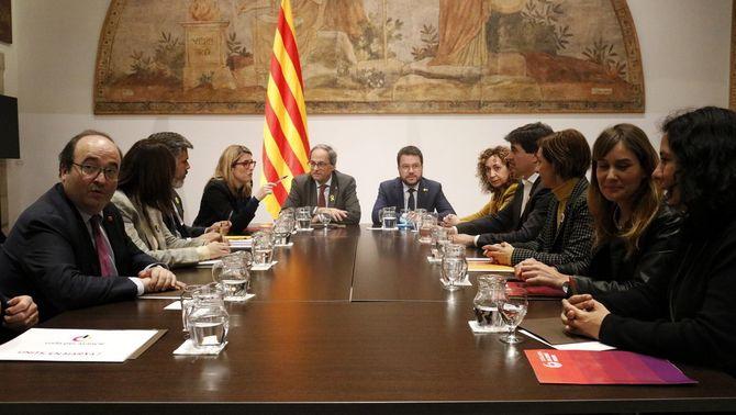 """El """"notari"""" centra la taula de diàleg dels partits catalans, que es reunirà cada mes"""