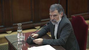 El president d'Omnium Cultural, Jordi Cuixart, ha declarat més de tres hores al Suprem