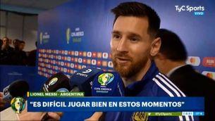 """Messi: """"Ens han donat una vida i hem d'aprofitar-la"""""""