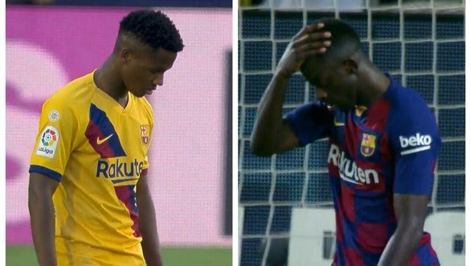 Dembélé o Ansu Fati, el dubte de Valverde contra el Celta