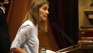 La presidenta de CatECP, Jéssica Albiach, intervé al debat de política general al Parlament, el 14 de setembre de 2020