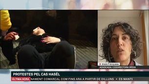 """Anaïs Franquesa, Iridia: """"Li van disparar a la cara"""""""