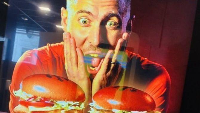 Hazard es converteix en el protagonista d'una campanya d'hamburgueses