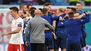 Eslovàquia sorprèn i s'imposa a Polònia (1-2)