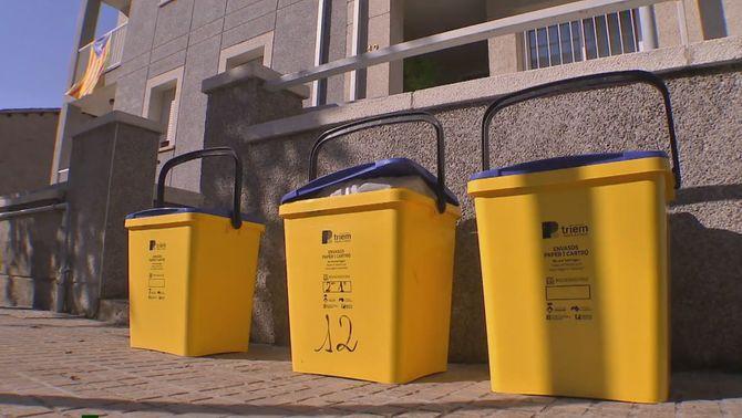 El Berguedà, al capdavant del reciclatge amb el porta a porta de recollida d'escombraries
