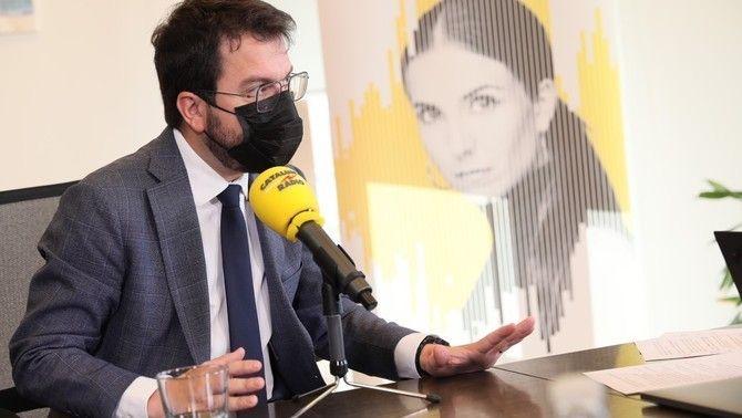Sánchez nega el referèndum i Aragonès li demana atreviment perquè Catalunya pugui decidir