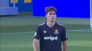 El fill d'Iván De la Peña debuta amb el Nàstic a l'estadi Johan Cruyff