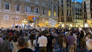 Concentracions en protesta per la detenció de Puigdemont