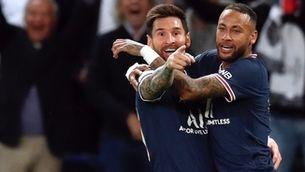 Messi marca el seu primer gol amb el PSG