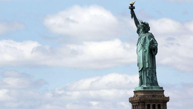L'estàtua de la Llibertat de Nova York