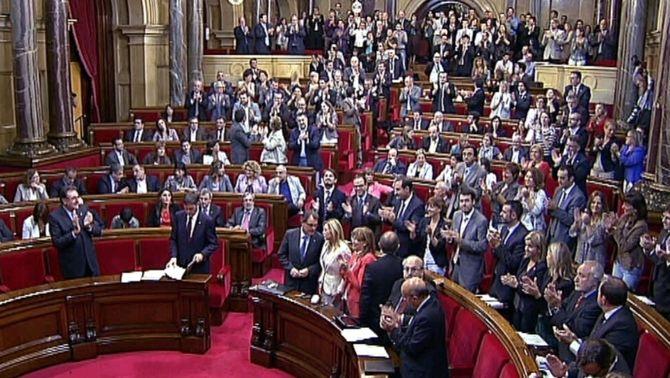 Els partits catalans de l'arc parlamentari es gastaran 8,5 milions d'euros en la campanya