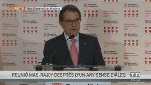 Balanç de la reunió Mas-Rajoy