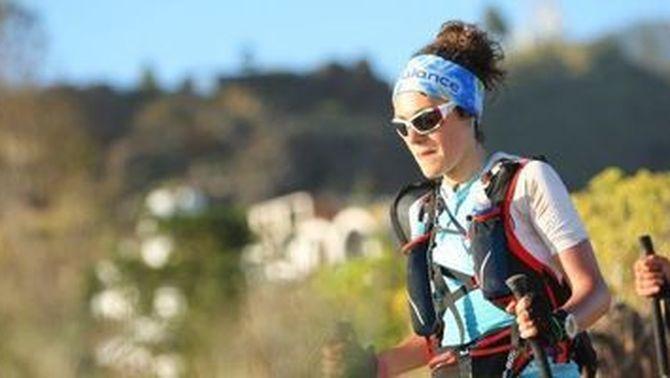 Bea García, camí de convertir-se en la primera espanyola que completa la cursa 4 Deserts