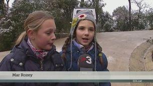 La nevada ha afectat a les escoles de molts punts de Catalunya