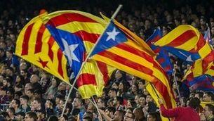 Estelades prohibides al Calderón