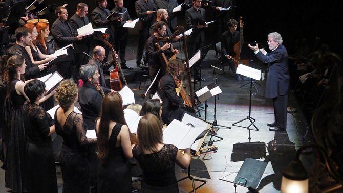 La Capella Reial de Catalunya amb Jordi Savall, al Liceu
