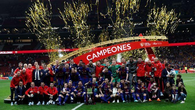 El Barça passa per sobre del Sevilla i es corona campió de la Copa (0-5)