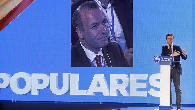 """Casado: """"Aznar va parar el pla Ibarretxe i Rajoy va parar el pla Puigdemont"""""""