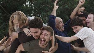 """Imatge del grup d'alumnes de la serie """"Merlí"""""""