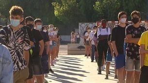 Com comença el curs a l'institut Antoni Martí Franquès de Tarragona, un dels més grans de Catalunya