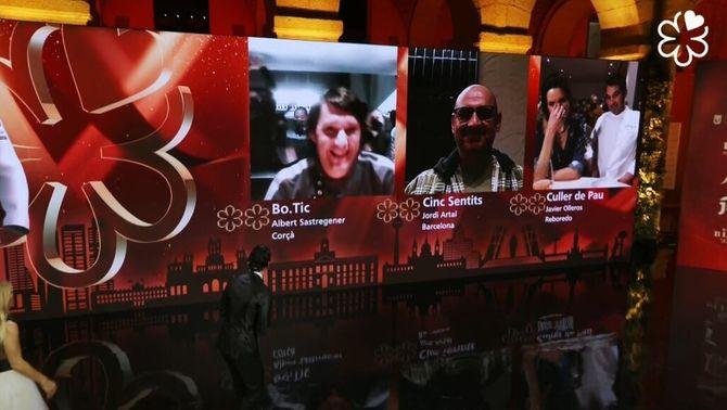 Els restaurants catalans Bo.TiC i Cinc Sentits guanyen la segona estrella Michelin