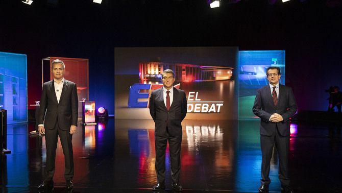 Els 6 moments clau del debat dels candidats a la presidència del Barça