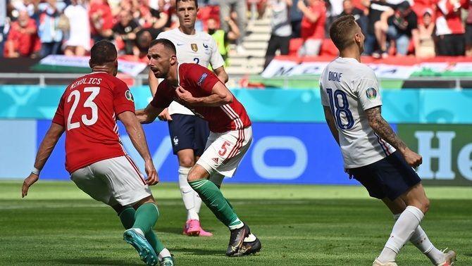 Hongria sorprèn França i treu un empat contra la campiona mundial (1-1)