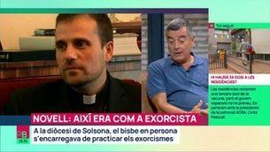 El bisbe Novell: així era com a exorcista