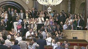 La votació per prohibir les corrides de toros a Catalunya