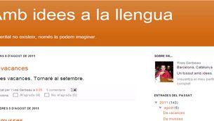Amb idees a la llengua // Yves Gerbeau