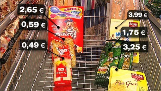 Els celíacs denuncien l'encariment dels productes sense gluten per la pujada de l'IVA