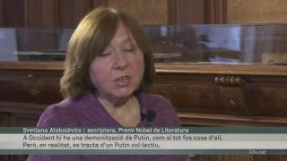 Imatge de:Declaracions de Svetlana Aleksiévitx