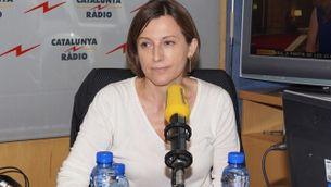 Carme Forcadell declara la tolerància zero a la corrupció